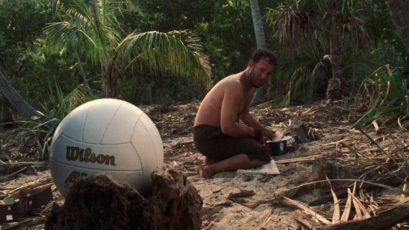Tom Hanks e a bola wilson