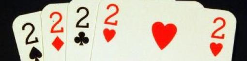 numero dois em cartas de jogar para as duas coisas acerca de escrever um filme