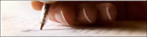 escrita imagem