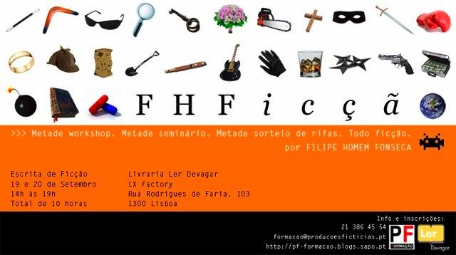Seminário de escrita de Filipe Homem Fonseca
