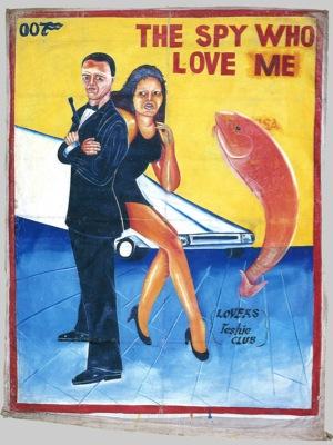 Posters de cinema do Ghana