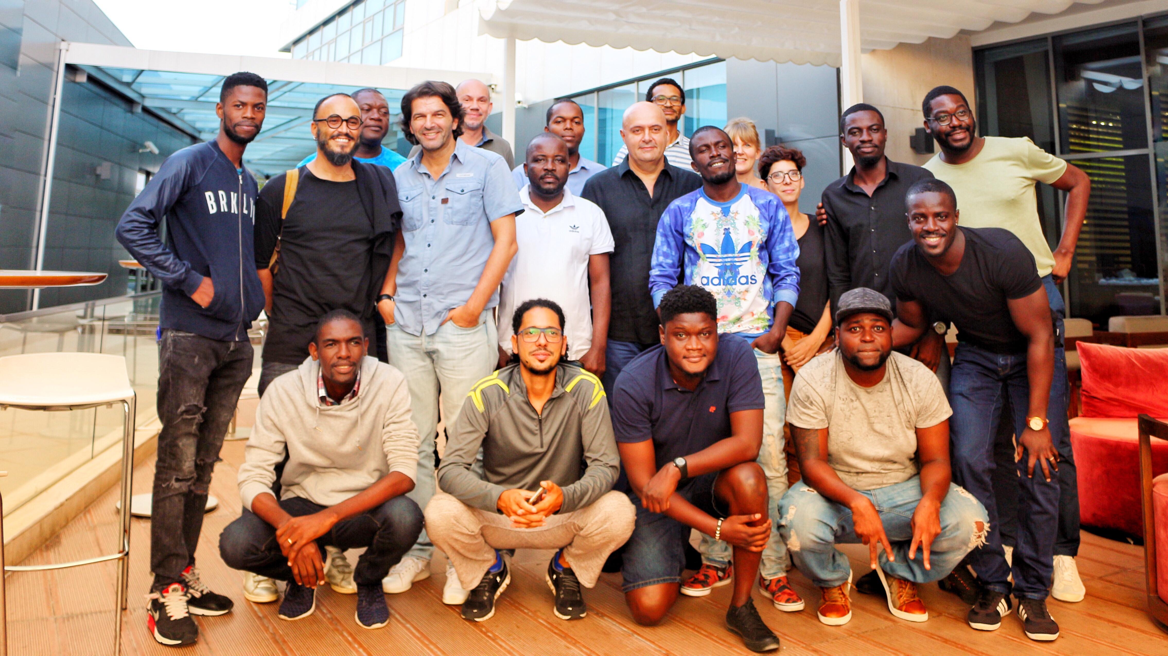 Workshop de Escrita em Luanda