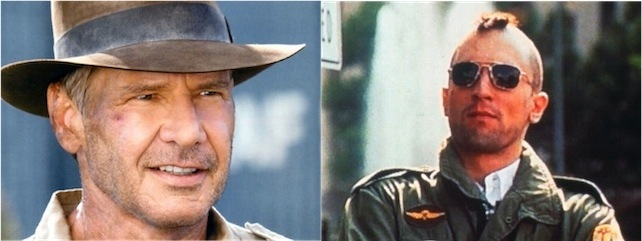 Indiana Jones e Travis Bickle
