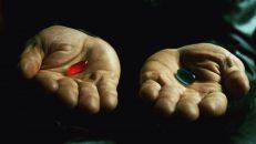 Grandes Diálogos: Escolhe uma pílula, de The Matrix