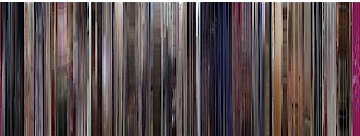 Códigos de cores de filmes famosos