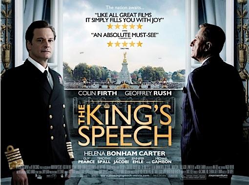 o discurso do rei - cartaz