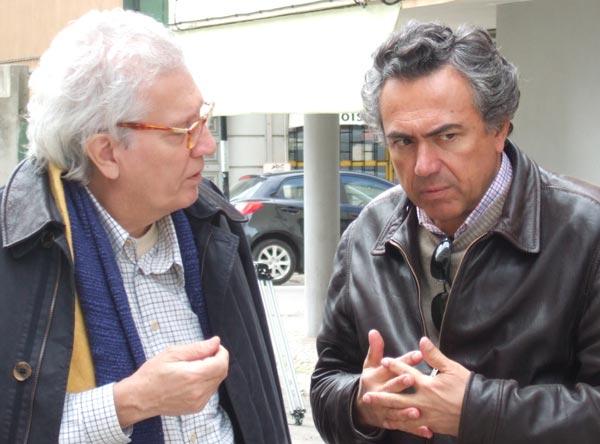 José Mazeda e Francisco Manso